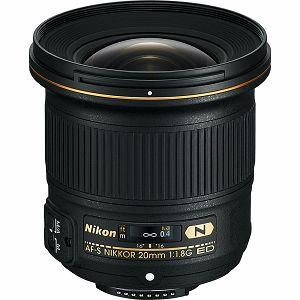 Nikon AF-S 20mm f/1.8G FX širokokutni objektiv Nikkor 20mm 1.8G 20 1.8 f1.8G wide angle prime lens (JAA138DA) - LJETNA PROMOCIJA