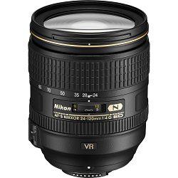 Nikon AF-S 24-120mm f/4G ED VR FX allround objektiv Nikkor auto focus zoom lens 24-120 F4 G (JAA811DA)