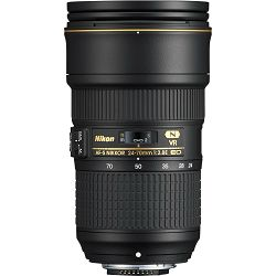 Nikon AF-S 24-70mm f/2.8E ED VR standardni objektiv Nikkor 24-70 F2.8 2.8 zoom lens (JAA824DA) - TRENUTNA UŠTEDA