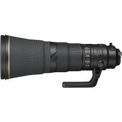 Nikon AF-S 600mm f/4E FL ED VR FX telefoto objektiv fiksne žarišne duljine Nikkor auto focus lens 600 f/4 E F4 F4E (JAA534DA)
