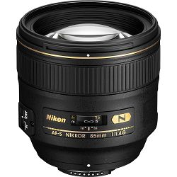 Nikon AF-S 85mm f/1.4G FX telefoto portretni objektiv Nikkor Professional auto focus prime lens 85 1.4G F1.4 G (JAA338DA) - TRENUTNA UŠTEDA