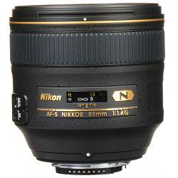 Nikon AF-S 85mm f/1.4G FX telefoto portretni objektiv Nikkor Professional auto focus prime lens 85 1.4G F1.4 G (JAA338DA)