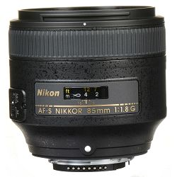 Nikon AF-S 85mm f/1.8G FX telefoto portretni objektiv Nikkor auto focus lens 85 1.8G F1.8 G (JAA341DA) - TRENUTNA UŠTEDA