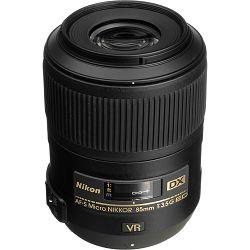 Nikon AF-S 85mm f/3.5G ED VR Micro DX Macro objektiv fiksne žarišne duljine Nikkor auto focus prime lens 85 3.5 G (JAA637DA)