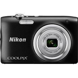 Nikon Coolpix A100 Black crni digitalni kompaktni fotoaparat (VNA971E1)
