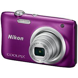 Nikon Coolpix A100 Purple ljubičasti digitalni kompaktni fotoaparat (VNA973E1)