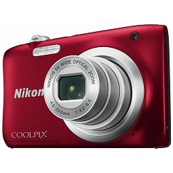 Nikon Coolpix A100 Red crveni digitalni kompaktni fotoaparat (VNA972E1)