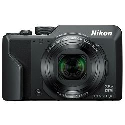 Nikon Coolpix A1000 Black Digitalni kompaktni fotoaparat Digital Camera (VQA080EA)