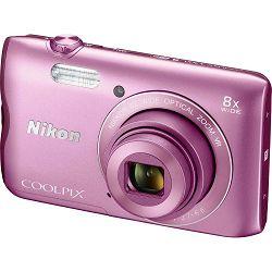 Nikon Coolpix A300 Pink VNA962E1 rozi digitalni kompaktni fotoaparat