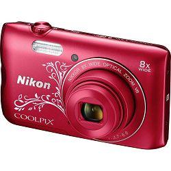Nikon Coolpix A300 Red LA VNA964E1 crveni digitalni kompaktni fotoaparat