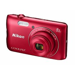 Nikon Coolpix A300 Red VNA963E1 crveni digitalni kompaktni fotoaparat