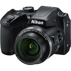 Nikon Coolpix B500 Black Digital camera FullHD 40x optički zoom crni Digitalni kompaktni fotoaparat (VNA951E1)
