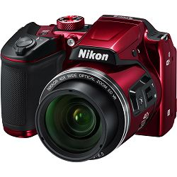 Nikon Coolpix B500 Red Digital camera FullHD 40x optički zoom crveni digitalni fotoaparat (VNA953E1)