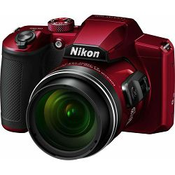 Nikon Coolpix B600 Red Digitalni kompaktni fotoaparat Digital Camera (VQA091EA)