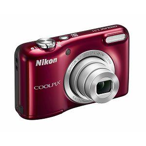 Nikon COOLPIX L31 Red digitalni fotoaparat VNA872E1