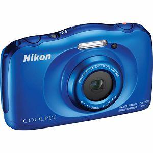 Nikon COOLPIX S33 Blue digitalni fotoaparat