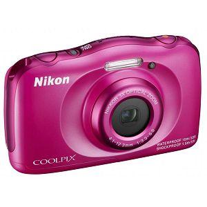 Nikon COOLPIX S33 Pink digitalni fotoaparat