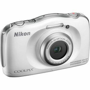 Nikon COOLPIX S33 White digitalni fotoaparat