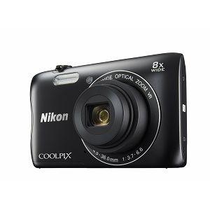 Nikon COOLPIX S3700 Black digitalni fotoaparat