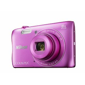 Nikon COOLPIX S3700 Pink digitalni fotoaparat