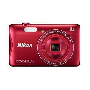 Nikon COOLPIX S3700 Red digitalni fotoaparat