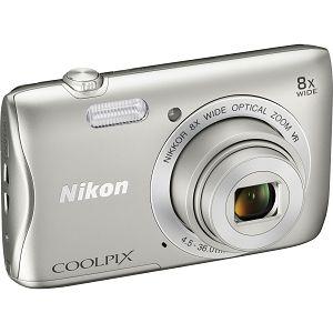 Nikon COOLPIX S3700 Silver digitalni fotoaparat