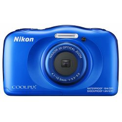 Nikon Coolpix W100 Blue Backpack KIT VQA011K001 All Weather Waterproof Digital Camera plavi vodonepropusni vodootporni podvodni digitalni kompaktni fotoaparat