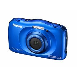 Nikon Coolpix W100 Blue VQA011E1 All Weather Waterproof Digital Camera plavi vodonepropusni vodootporni podvodni digitalni kompaktni fotoaparat