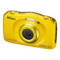 Nikon Coolpix W100 Yellow VQA013E1 All Weather Waterproof Digital Camera vodonepropusni žuti vodootporni podvodni digitalni kompaktni fotoaparat