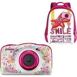 Nikon Coolpix W150 Flower Backpack Kit All Weather Waterproof Camera vodootporni podvodni digitalni kompaktni fotoaparat (VQA113K001)