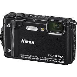 Nikon Coolpix W300 Black crni digitalni kompaktni vodootporni fotoaparat 16MPx 4K UHD 5x zoom (VQA070E1)