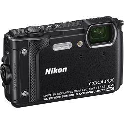 Nikon Coolpix W300 Black crni digitalni kompaktni vodootporni fotoaparat 16MPx 4K UHD 5x zoom (VQA070E1) - TRENUTNA UŠTEDA