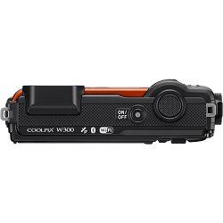 Nikon Coolpix W300 Orange narančasti digitalni kompaktni vodootporni fotoaparat 16MPx 4K UHD 5x zoom (VQA071E1) - TRENUTNE UŠTEDE