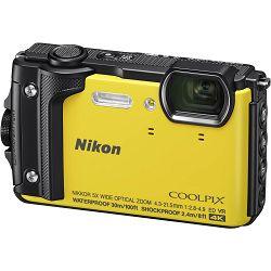 Nikon Coolpix W300 Yellow žuti digitalni kompaktni vodootporni fotoaparat 16MPx 4K UHD 5x zoom (VQA072E1) - LJETNA PROMOCIJA