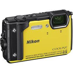Nikon Coolpix W300 Yellow žuti digitalni kompaktni vodootporni fotoaparat 16MPx 4K UHD 5x zoom (VQA072E1)