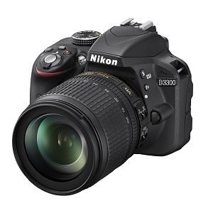 Nikon D3300 kit 18-105 VR Black fotoaparat VBA390K005 18-105VR 18-105mm