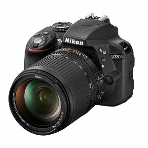 Nikon D3300 + AF 18-140 ED VR DX KIT DSLR Digitalni fotoaparat s allround objektivom 18-140VR 18-140mm f/3.5-5.6G (VBA390K021)
