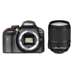 Nikon D3400 + AF 18-140 VR KIT DSLR Digitalni fotoaparat Camera with 18-140VR lens APS-C DX objektiv (VBA490K009)