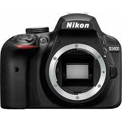 Nikon D3400 Body Black DX DSLR Digitalni fotoaparat tijelo (VBA490AE)