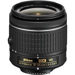Nikon D3500 + AF-P 18-55 f/3.5-5.6 VR DX KIT DSLR digitalni fotoaparat i objektiv Nikkor 18-55mm (VBA550K001)