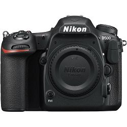 Nikon D500 Body 4K UHD 20.9MP DX DSLR Digitalni fotoaparat tijelo Camera (VBA480AE) - TRENUTNE UŠTEDE
