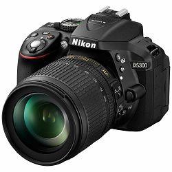 Nikon D5300 + AF 18-105 VR KIT DSLR Digitalni fotoaparat s objektivom AF18-105VR 18-105mm f/3.5-5.6G ED DX (VBA370K004)