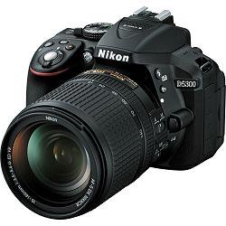 Nikon D5300 + AF 18-140 VR KIT DSLR Digitalni fotoaparat s objektivom AF18-140VR 18-140mm (VBA370K002)