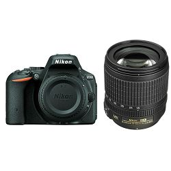Nikon D5500 + AF 18-105 VR KIT DSLR Digitalni fotoaparat Camera with 18-105VR f/3.5-5.6G ED lens APS-C DX objektiv (VBA440K004)
