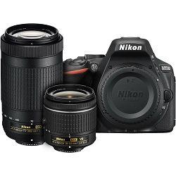 Nikon D5500 + AF-P 18-55 VR + AF-P 70-300VR KIT DSLR Digitalni fotoaparat Camera with 18-55mm f/3.5-5.6 and 70-300mm Lens 70-300 f/4.5-6.3 VR (VBA440K019)