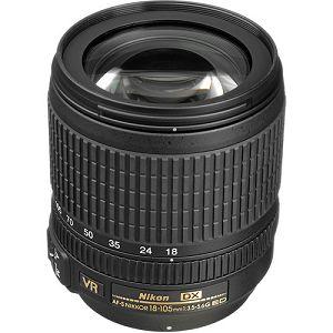 Nikon D5500 + AF 18-105 VR KIT VBA440K004 DSLR digitalni fotoaparat Camera with 18-105VR f/3.5-5.6G ED lens APS-C DX objektiv