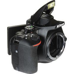 Nikon D5600 + AF-P 18-55 VR + AF-P 70-300 VR DX KIT DSLR Digitalni fotoaparat Camera with 18-55mm f/3.5-5.6 70-300mm lens (VBA500K004) - TRENUTNA UŠTEDA