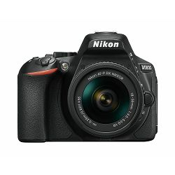 Nikon D5600 + AF-P 18-55 VR DX KIT DSLR Digitalni fotoaparat Camera with 18-55mm f/3.5-5.6 lens (VBA500K001)