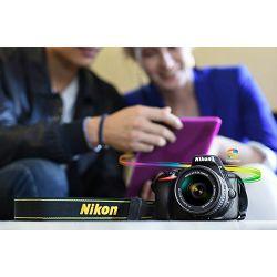 Nikon D5600 + AF-P 18-55 VR DX KIT DSLR Digitalni fotoaparat Camera with 18-55mm f/3.5-5.6 lens (VBA500K001) - TRENUTNA UŠTEDA