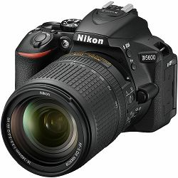 Nikon D5600 + AF-S 18-140 VR DX KIT DSLR Digitalni fotoaparat Camera with 18-140mm f/3.5-5.6 lens (VBA500K002) - ZIMSKA PROMOCIJA